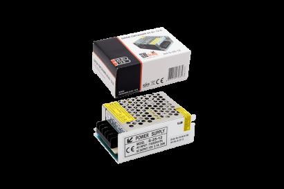Блок питания (AC-DC) 12V 25W 00000000111 S-25-12 кожух - купить по выгодной цене в интернет-магазине Промэлектроника