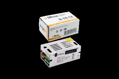 Блок питания (AC-DC) 12V 15W 09-00900045 S-15-12 кожух - купить по выгодной цене в интернет-магазине Промэлектроника