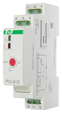 Реле времени PO-415 задержки выключения управляющим контактом ЕА02.001.018  - купить по цене 1 355 руб. в интернет-магазине Промэлектроника