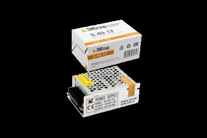 Блок питания (AC-DC) 12V 40W 00000000126 S-40-12 кожух - купить по выгодной цене в интернет-магазине Промэлектроника